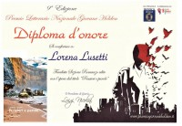 Diploma d'Onore Premio Giovane Holden 2015