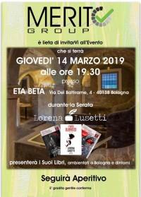 Lorena Lusetti presenterà i suoi libri - 14 marzo 2019
